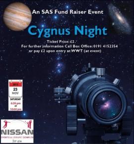 Cygnus observatory fundraiser