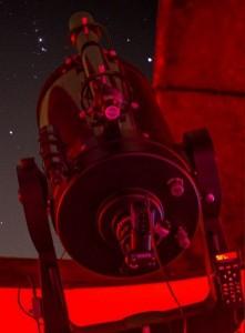 Cygnus Observatory at night