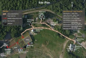 Site plan for Jupiter Nights