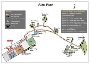 Stargazing  Live Site plan