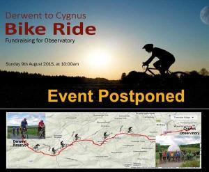 Bike Ride Postponed
