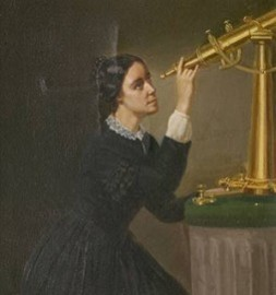 Maria Mitchell USA first female AStronomer