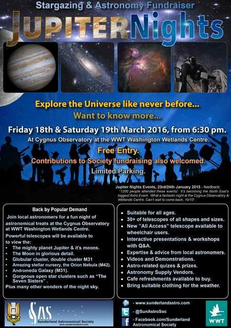 Jupiter Nights March 2016