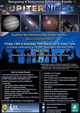 Jupiter Nights Events March 2016