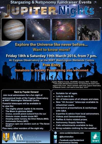 Jupiter Nights Events March 2016