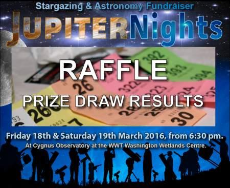 Jupiter Nights 2016 Raffle Prize Draw