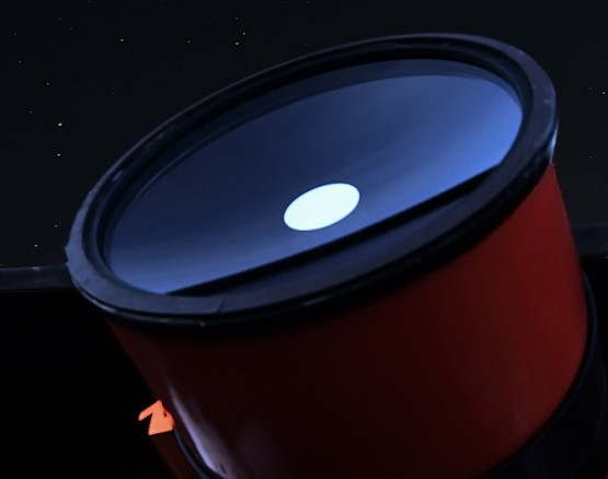 Perseus - Grubb-Parsons Telescope 1985