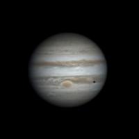 Jupiter GRS Europa shadow transit 27-02-2014 2019 U.T.