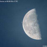 Moon & Aldebaran