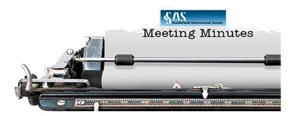 SAS Meeting Minutes