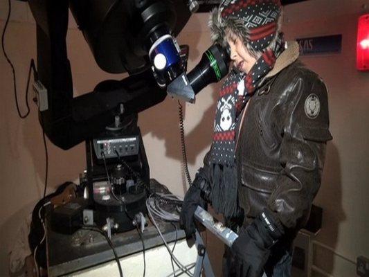 Josh at Cygnus Observatory