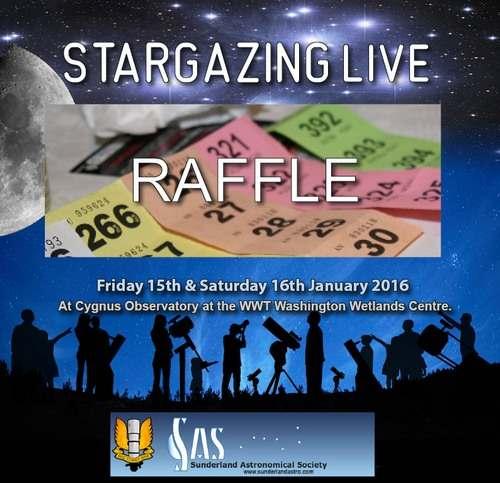 Stargazing Live 2016 Raffle