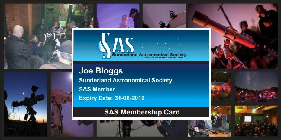 SAS Membership Renewals